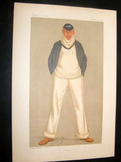 Vanity Fair Print 1893 William Alfred Littledale Fletcher, Rower | Albion Prints